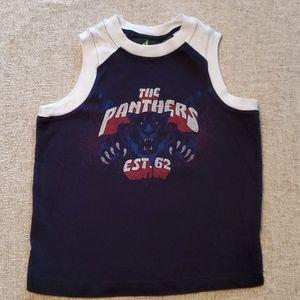 Athletech Shirts & Tops - Tha Panthers boys sleeveless tank 4/5 Black